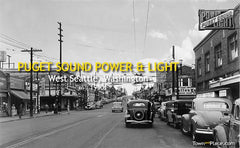 Puget Sound, Power & Light, West Seattle, 1940s