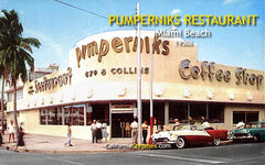 Pumperniks Restaurant Miami Beach, FL, c.1955