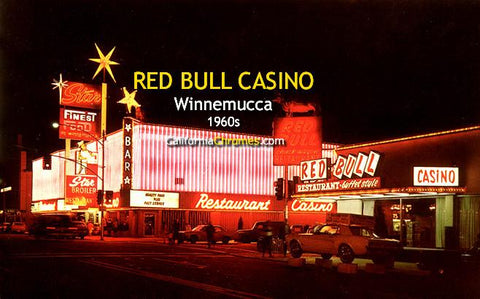 Red Bull Casino, Winnemucca Nevada c1960s