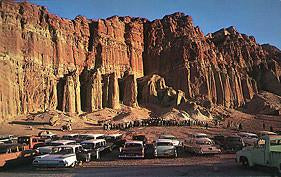 Easter Sunday Services at Red Rock Canyon Near Mojave, c.1960