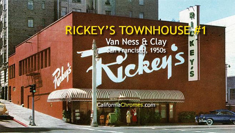 Rickey's Townhouse, San Francisco c1950s