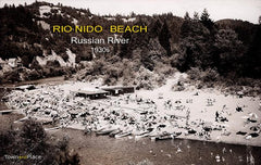Rio Nido Beach, Russian River, 1930s