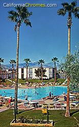 Pool at the Riviera, Palm Springs c.1960