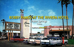 Bobby Ramos at the Riviera Hotel, Palm Springs c1960s