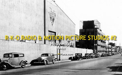 R-K-O Radio & Motion Pictures Studios #2, 1930s