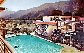 Pool at the Rossmore #2, Palm Springs c.1960