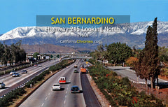 HIGHWAY 215 - SAN BERNARDINO, California 1960s