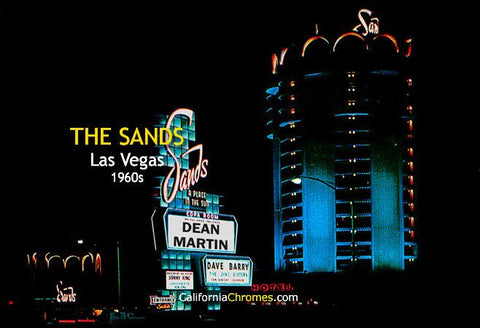 The Sands Las Vegas, c.1965
