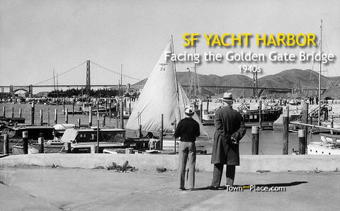 San Francisco Yacht Harbor, 1940s