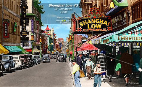 Shanghai Low #3, SF Chinatown, 1930s