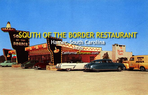 South of the Border Restaurant, Hamer South Carolina c1950s
