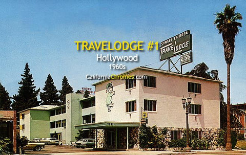The Travelodge at La Brea & Sunset Hollywood, c.1960