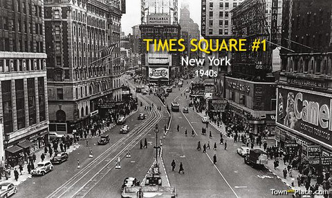 Times Square #1, New York, 1940s