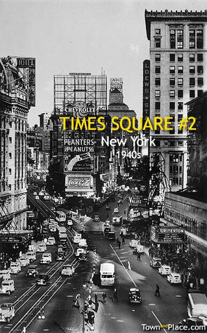 Times Square #2, New York, 1940s