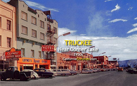 Truckee Near Donner Lake c1950s