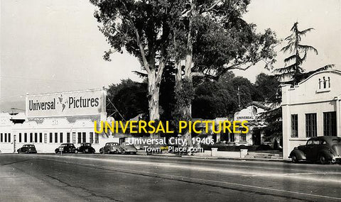 UNIVERSAL PICTURES, Universal City, 1940s