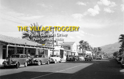 Village Toggery, Palm Springs, 1940s