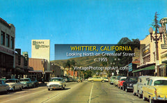 GREENLEAF STREET - Whittier, California 1950s