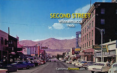 Second Street WInnemucca, c.1965