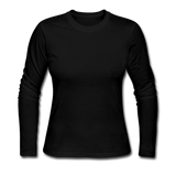 Women's Long Sleeve Jersey T-Shirt - black