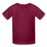 Kids' T-Shirt - burgundy