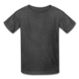 Kids' T-Shirt - heather black