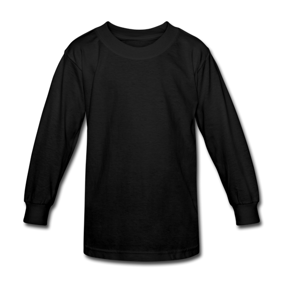 Kids' Long Sleeve T-Shirt - black