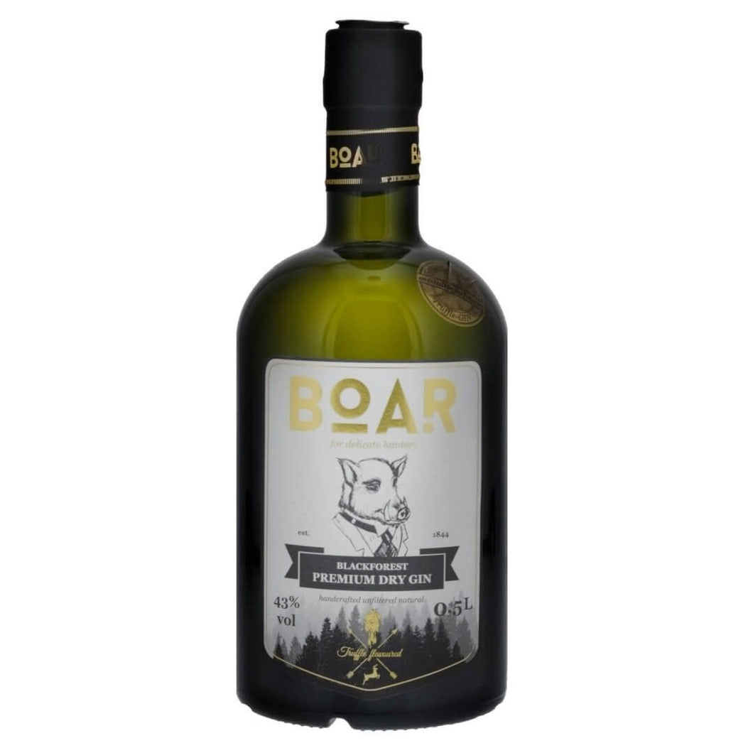 BOAR - Black Forest Dry Gin 43% vol 500 ml
