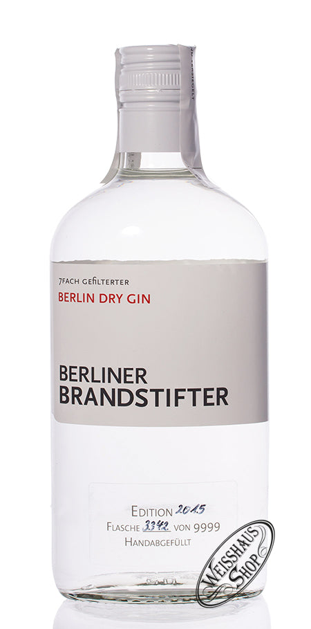 Berliner Brandstifter Berlin Dry Gin 43,3% Vol. 0,7 I