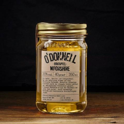 O'Donnell Moonshine Bratapfel 350 ml (20%Vol.)