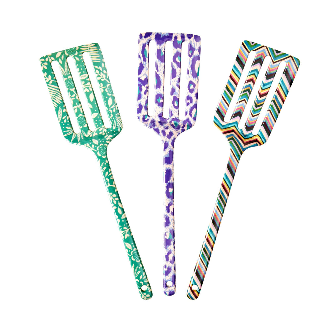 Melamine Spatula - Assorted Life is Better in Color Print