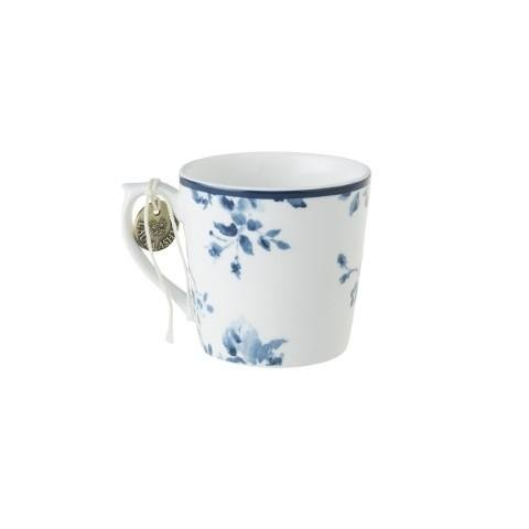 Laura Ashley Blueprint Porzellan Becher klein China Rose - Feinkost powered by Innkaufhaus