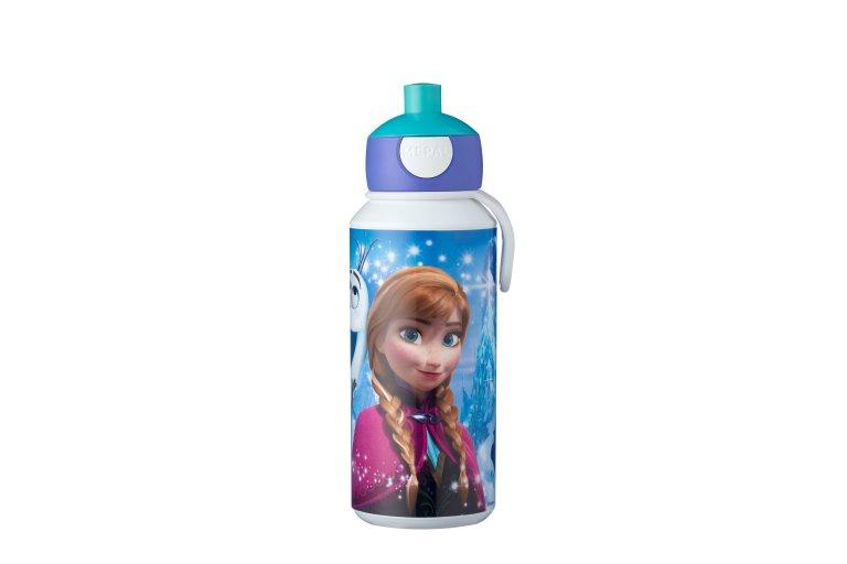 trinkflasche pop-up campus 400 ml - frozen sisters forever - Feinkost powered by Innkaufhaus