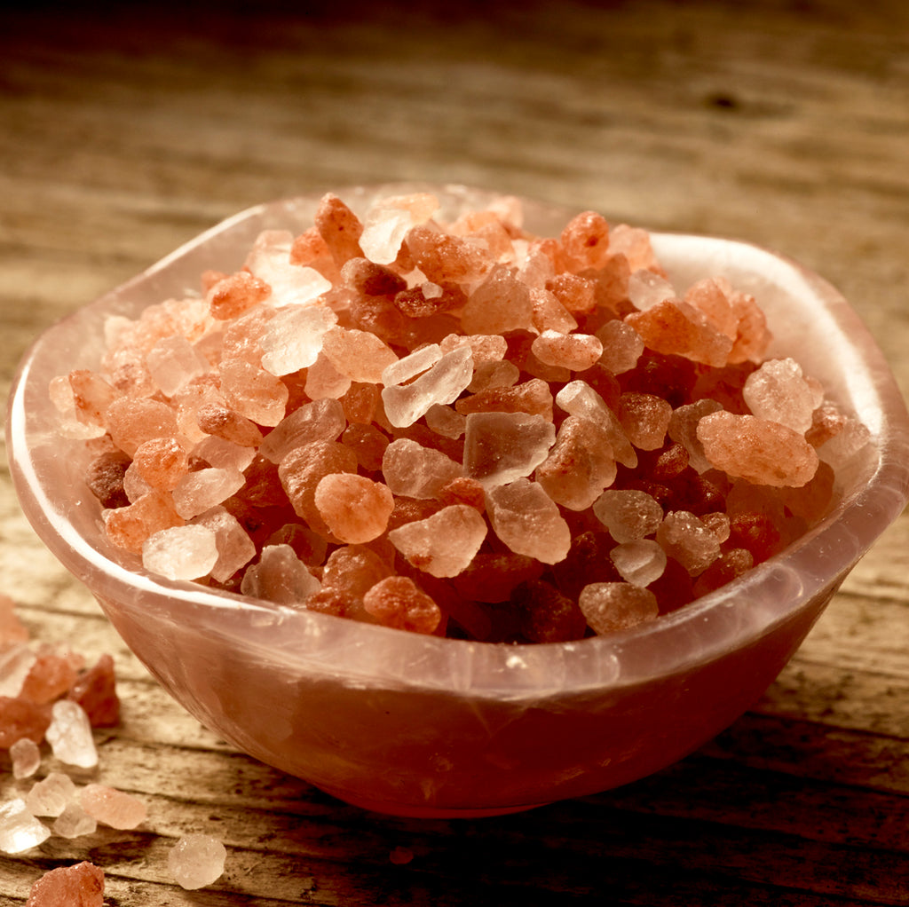 The Healing Benefits of a Himalayan Salt Bath