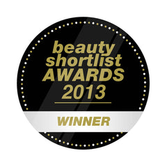 Certification for Therapie Roques-O'Neil as the winner of the 2013 Beauty Shortlist for Best Bath Product