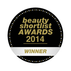 Certification for Therapie Roques-O'Neil as the winner of the 2014 Beauty Shortlist for Best Stress-Less Product
