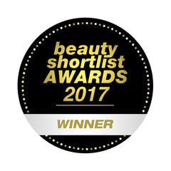 Certification for Therapie Roques-O'Neil as the winner of the 2017 Beauty Shortlist for Best Stress-Less Product