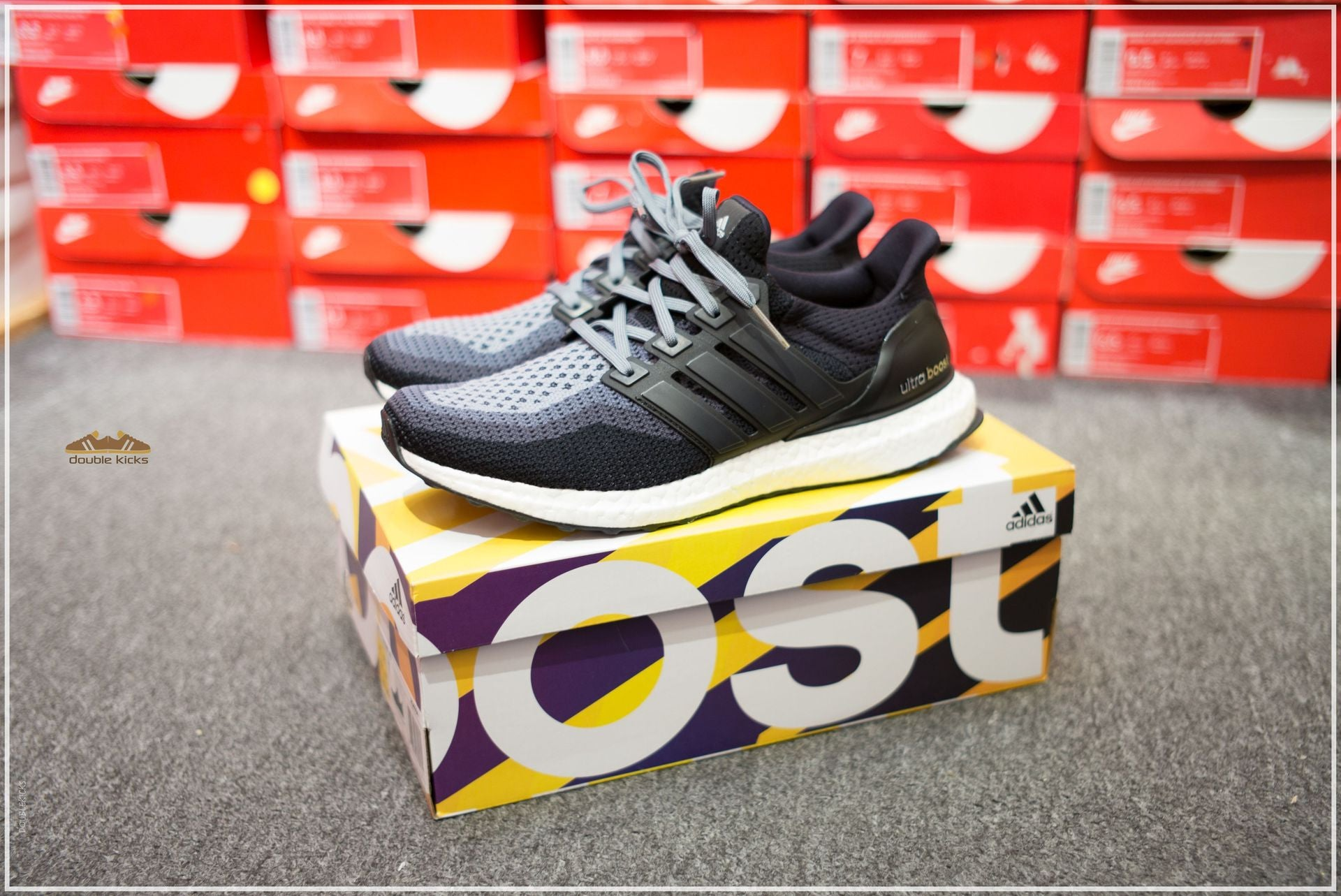 Adidas Ultra Boost Black Gradient