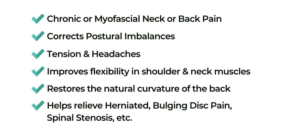 Neck Recliner cervical pain relief uses