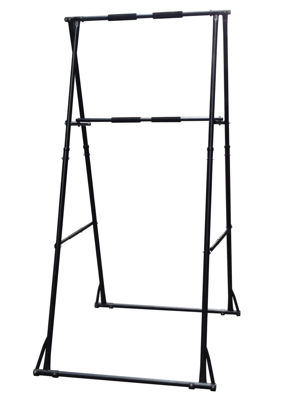 MODEL KT1.HT: DOUBLE-TIERED FOLDING PULL UP BAR FOR USERS FROM 39.3 INCHES – 70.8 INCHES TALL
