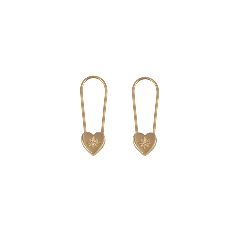 Pin Sweetheart Earrings