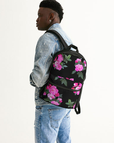 Roses for Days Small Canvas Backpack