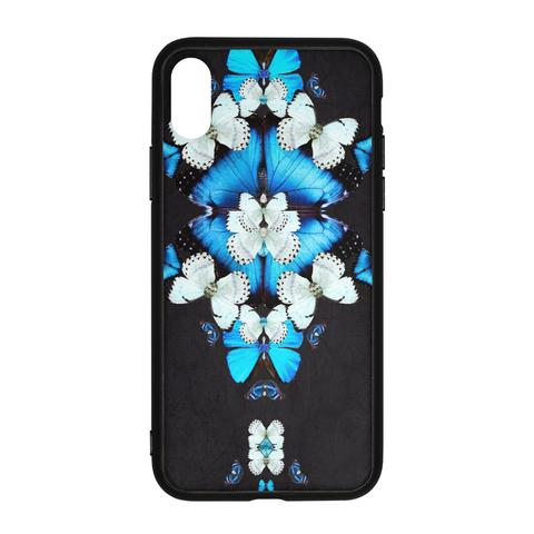 Iron Butterfly Print iPhone X Case