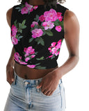 Roses for Days Women's Twist-Front Tank