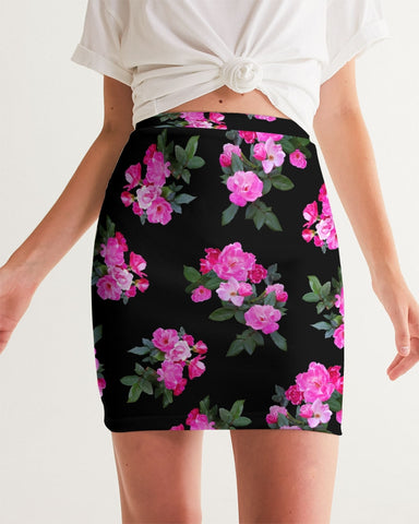 Roses for Days Women's Mini Skirt