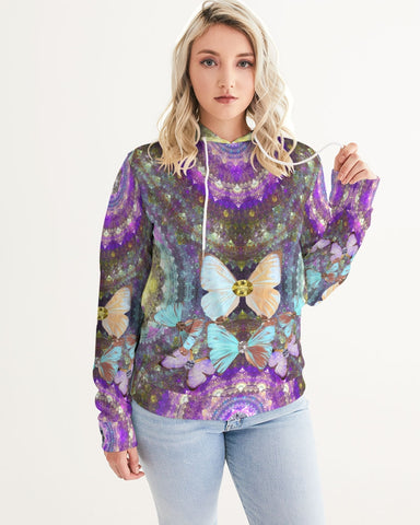 Big Blingy Starry Night Women's Hoodie