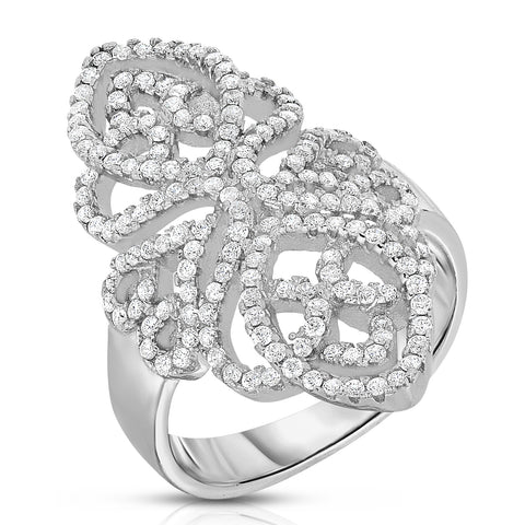 Interlace Trinity Ring