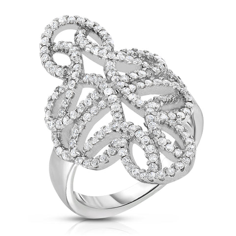 Interlace Canterbury Ring