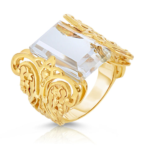 La Ventana Gold Lace Ring