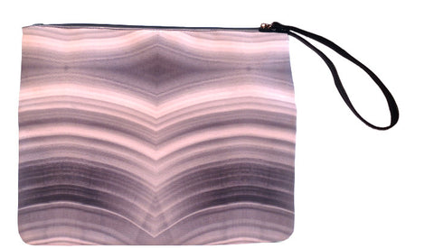 Canyon Walls - Canvas Wristlet - Nude